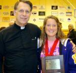 Rivet student receives mental attitude award at state
